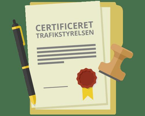 Certificering hos Trafikstyrelsen kræver droneforsikring