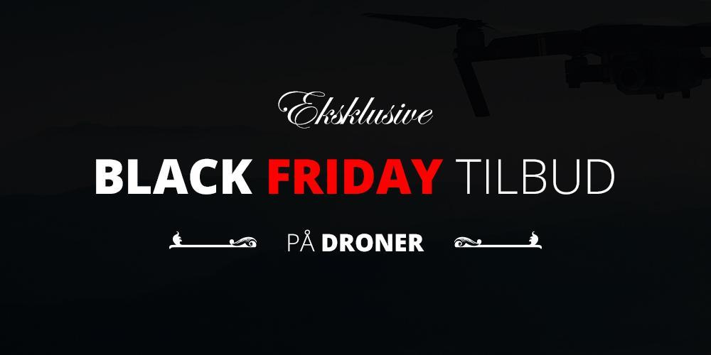 Rørig Eksklusive Black Friday-tilbud på droner - Dromag.dk FH-84